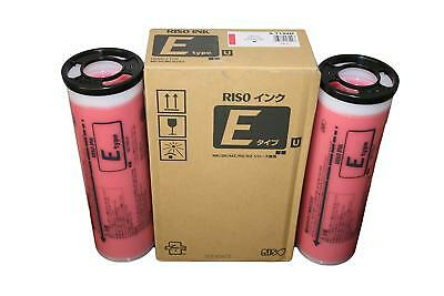 Riso S-7199 Bright Red Ink, for Risograph EZ, MZ, and RZ Series Duplicators