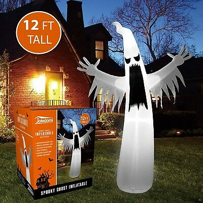 HALLOWEEN BLOW UP SCARY GHOST Spooky Inflatable Scary Outdoor Yard Holiday Decor
