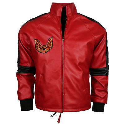 Burt Reynolds Smokey And The Bandit Out Cosplay Movie Outfit Red Leather Jacket