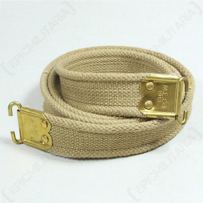WW1 British Lee Enfield Rifle Sling - 1913 Repro Army Commonwealth ME Co New