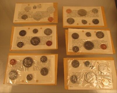 Canadian Proof Sets  2-1968,  2-1970 , 1966 + 1970   @ A Village Coin Bullion