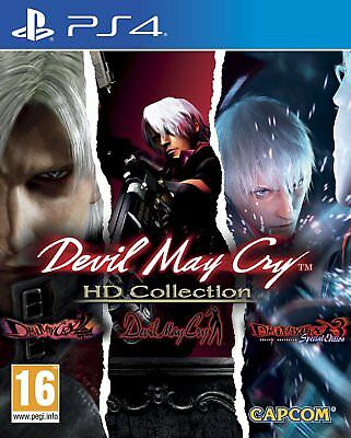PS4 Game Devil May Cry HD Collection DMC with Part 1+2+3 Dante's Awakening New