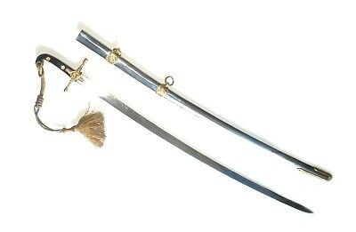 British Or French Officer's Mamelike Sword W/ Antique Swordknot