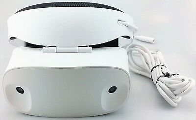 Dell VR118 Visor VR Headset w/Controllers for Compatible Windows PCs Good Shape