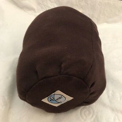 Original moby wrap infant baby carrier chocolate brown color Barely Used