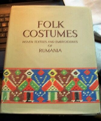 Folk Costumes Woven Textiles And Embroideries Of Rumania