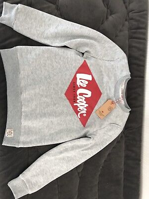 Pull Lee Cooper Neuf 12 Ans