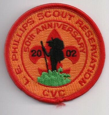 G Patch, Camp Phillips 2002, Chippewa Valley Council Wisconsin WI, 50th Ann. Rnd