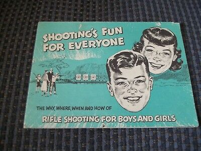 1958 Compliments Of Remington Arms Co.Shooting's Fun For Everyone
