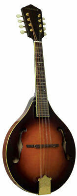 Ashbury AM-410 A-Style BLUEGRASS MANDOLIN, Solid carved spruce top, maple body.