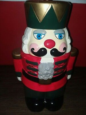 Nutcracker cookie jar hand painted Collectible Loomco