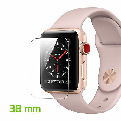 Apple Watch 38mm Premium Tempered Glass Screen Protector Smart Watch L@@K