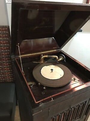 Aeolian Vocalion Stand Up Phonograph Antique 1910's WORKS