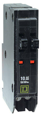 Square D QO 2-15 Amp Single-Pole Tandem Circuit Breaker