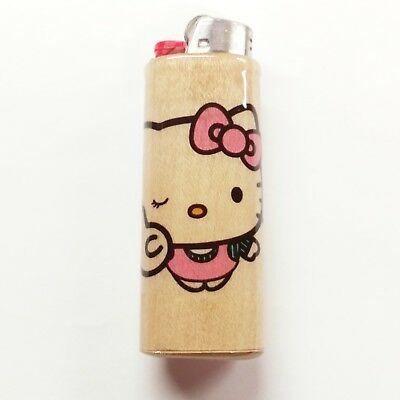 Hello Kitty Lighter Case Holder Sleeve Cover Fits Bic Lighters