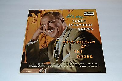 Let's Sing Songs Everybody Knows~Russ Morgan~Decca Records~FAST SHIPPING