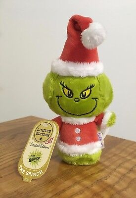 Hallmark Christmas Itty Bitty Bittys Dr. Seuss THE GRINCH Limited Edition NWT