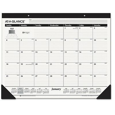 At A Glance At-A-Glance Ruled Desk Pad 22 x 17 2019 - AAGSK2400