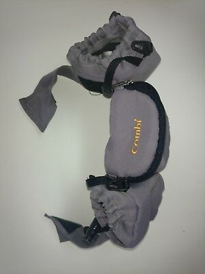 GREY Cup Holder Combi Baby Child Stroller Organizer Wipes Diaper Phone Toy.