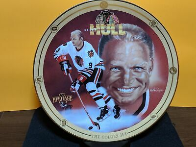 Heritage  Limited Edition Legends of Hockey Bobby Hull The Golden Jet Plate