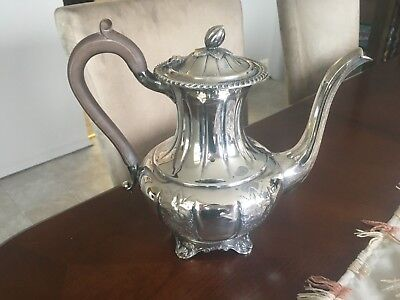 Rideau Hand Chased SIlver Tea Pot