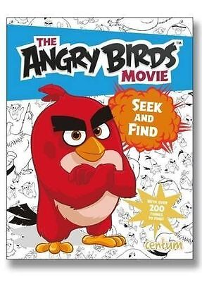 Angry Birds Movie SEEK and FIND Activity Book Red Bomb Chuck Pigs Mighty Eagle
