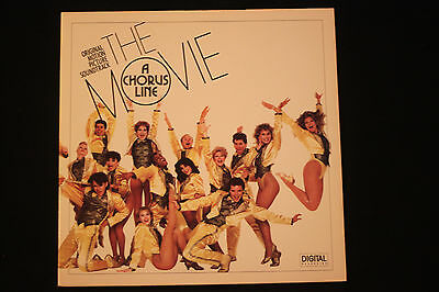 The Movie A Chorus Line Original Soundtrack IMPORT~1985 Soundtrack~FAST SHIP!!!