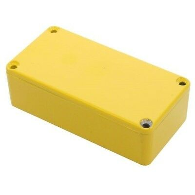 Hammond 1590G2YL Die Cast Stomp Box - Yellow 100 x 50 x 31