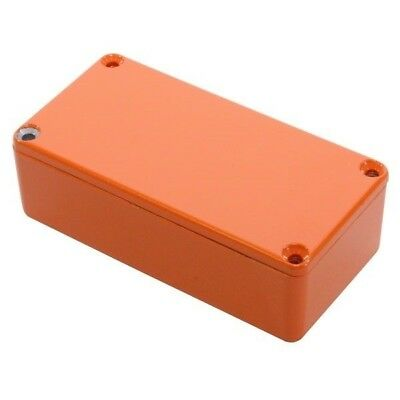 Hammond 1590G2OR Die Cast Stomp Box - Orange 100 x 50 x 31