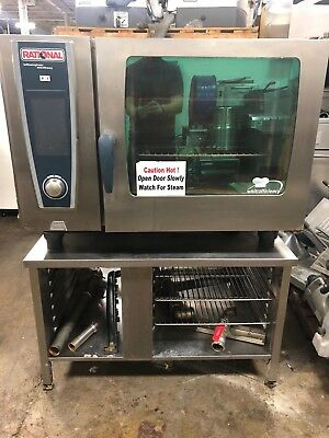 2012 Rational SCCWE62 Electric Combi Oven on a Stand WORKS GREAT!