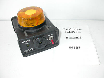 Production Intercom Blazon/3 #6104