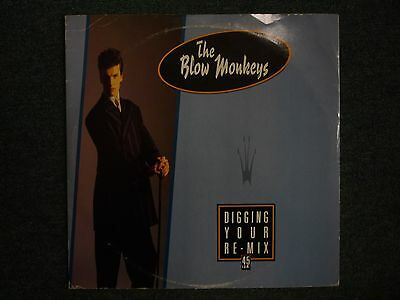 "The Blow Monkeys Digging Your Re-Mix 45 RPM 10"" 4 tracks~Digging Your Scene"