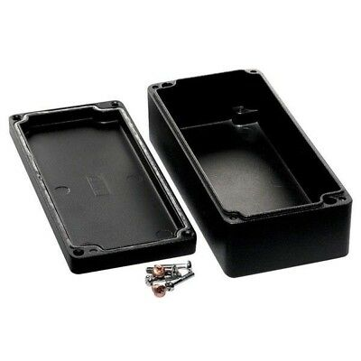 Hammond 1590Z130BK Watertight Diecast Enclosure 175 x 80 x 52 Black