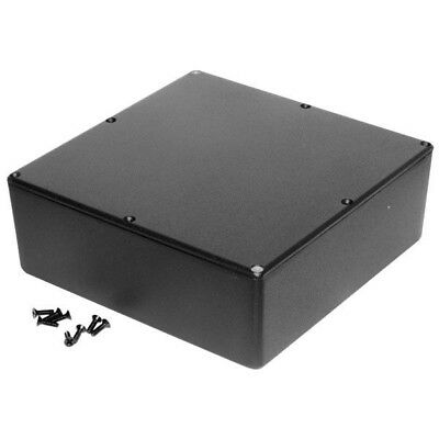 Hammond 1590FBK Diecast Enclosure Black (187.5 x 187.5 x 67mm)