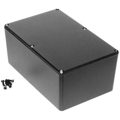 Hammond 1590EBK Diecast Enclosure Black (187.5 x 119.5 x 82mm)