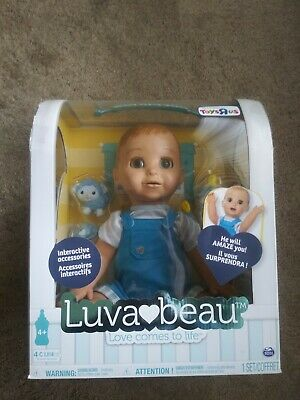 NEW  Luvabella Blonde Boy Baby Doll Interactive FACTORY SEALED