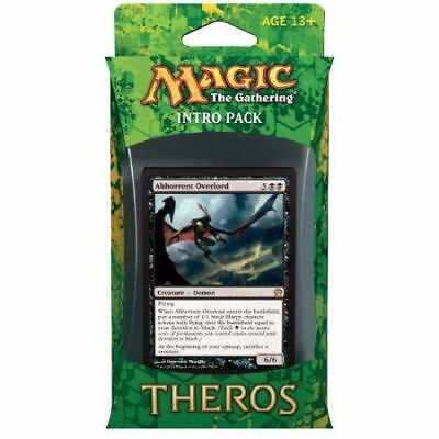 Mtg Theros Intro Pack Devotion To Darkness Nib