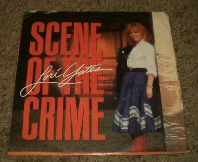 "Scene Of The Crime Lori Yates~RARE PROMO 1989 Country 7""~Picture Sleeve~VG++"