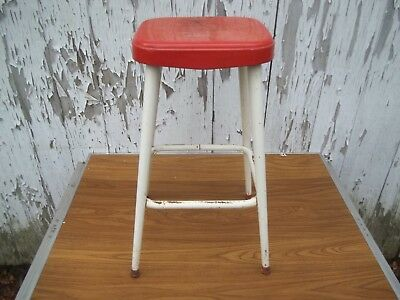 Enjoyable Vtg Ames Maid Not Cosco Painted Metal Kitchen Bar Stool Old Lamtechconsult Wood Chair Design Ideas Lamtechconsultcom