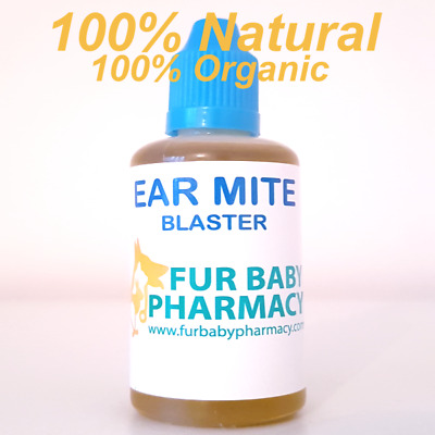 Ear Mite Treatment Drops Cats & Dogs It May Be Stinky Stuff But It Really Works