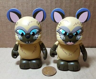 Disney Vinylmation Villainous Duos - Si & Am From Lady and the Tramp (A-3)