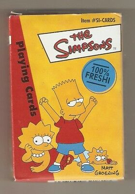 Rinco 2000 The Simpsons Playing Cards