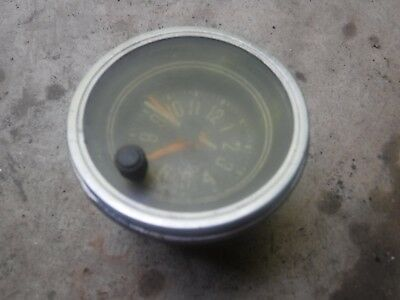 Jeep Cj5 Cj7 Cj8 76-86 Dash Mount Clock Laredo Golden Eagle For Parts See Ad