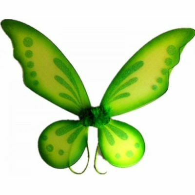 Orange Adult Tinkerbell Pixie Butterfly Fairy Wings Dress Up Girls Costume