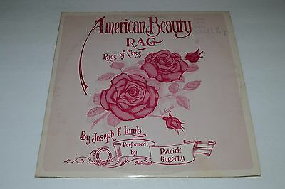 Patrick Gogerty~American Beauty~Rags of Joseph F. Lamb~AUTOGRAPHED~FAST SHIPPING