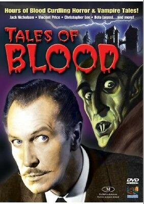 Tales of Blood (DVD, 2008) 40 Classic Horror Films Collection