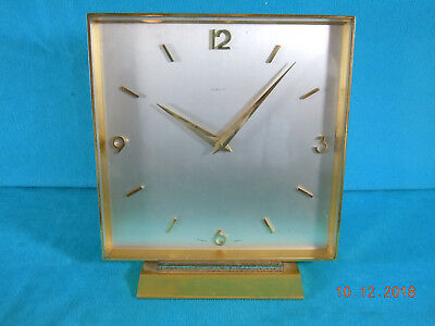 """8-Day; 15 Jewel Swiss Made Desk Clock """"Sim & Co."""" made by Concord Watch Co."""