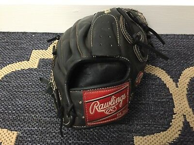 College Issue Rawlings Heart of The Hide 11.5 Pitching Baseball Glove PRO200-9JB