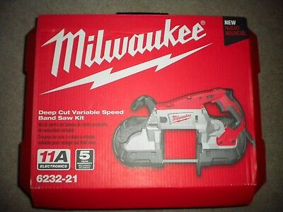 Milwaukee 6232-21 Deep Cut Bandsaw  **NEW** in the Hard Case