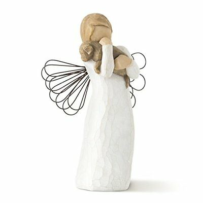 NEW Willow Tree hand painted sculpted angel Angel of Friendship FREE SHIPPING